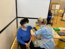 Mass vaccination clinics start across Lanarkshire