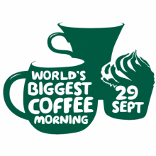 World's Biggest Coffee Morning - 29th September