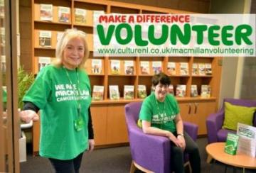 Volunteer for Macmillan in Lanarkshire and make a huge difference to people affected by cancer.